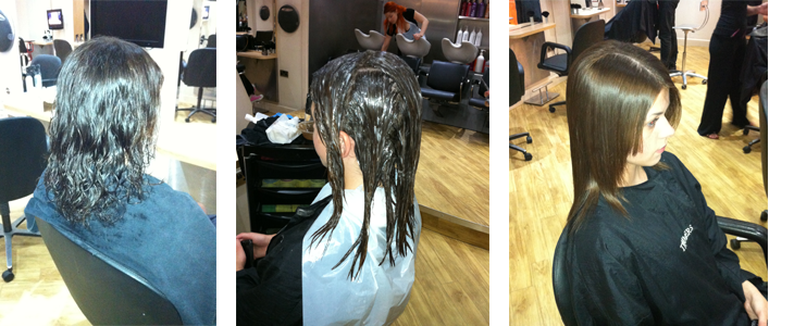 Ionic Hair Straightening Treatment, Permanently Straight